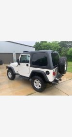 2004 Jeep Wrangler for sale 101308090