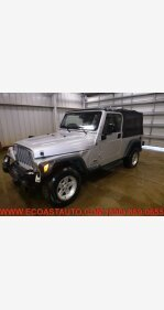 2004 Jeep Wrangler 4WD for sale 101326403