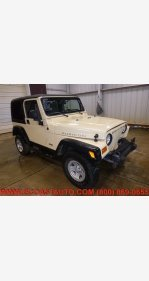 2004 Jeep Wrangler 4WD Rubicon for sale 101326429