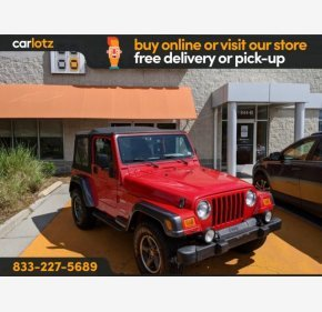 2004 Jeep Wrangler 4WD X for sale 101333795