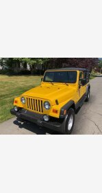 2004 Jeep Wrangler for sale 101349093