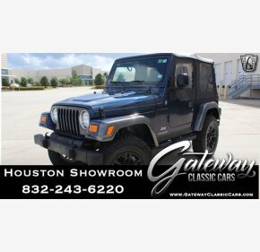 2004 Jeep Wrangler for sale 101359526
