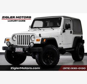 2004 Jeep Wrangler for sale 101361479