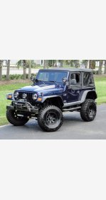 2004 Jeep Wrangler 4WD X for sale 101372944