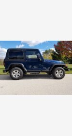 2004 Jeep Wrangler 4WD for sale 101392211