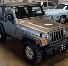 2004 Jeep Wrangler for sale 101392915