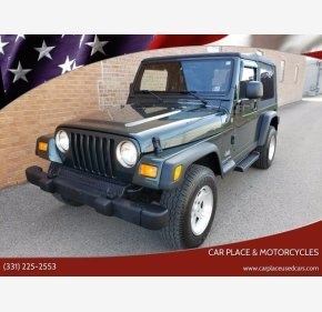 2004 Jeep Wrangler for sale 101406140