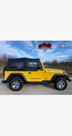 2004 Jeep Wrangler 4WD for sale 101410924
