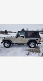 2004 Jeep Wrangler 4WD for sale 101434507