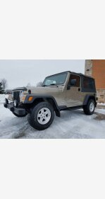 2004 Jeep Wrangler for sale 101434507