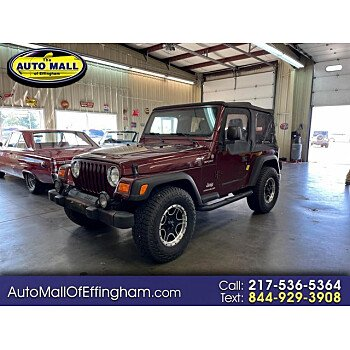 2004 Jeep Wrangler for sale 101605966
