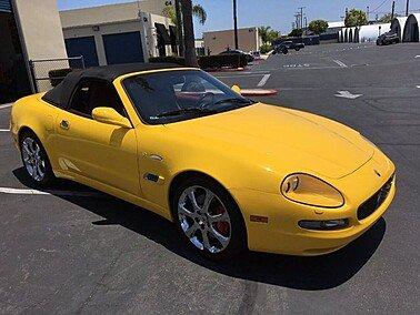 2004 Maserati Spyder for sale 101339925