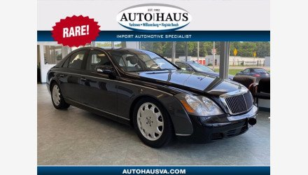 2004 Maybach 57 for sale 101342445