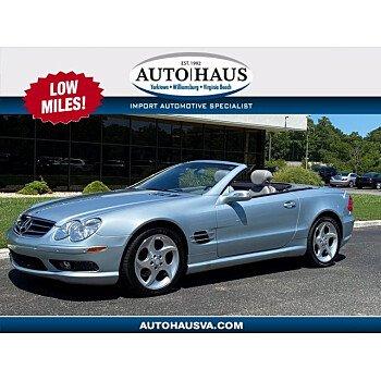 2004 Mercedes-Benz SL500 for sale 101354263