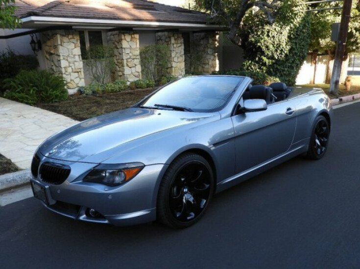 2005 Bmw 645ci Convertible