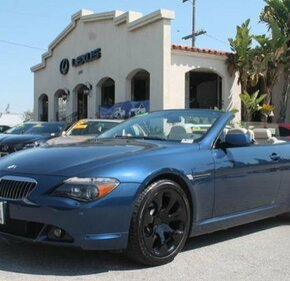 2005 BMW 645Ci Convertible for sale 101100242