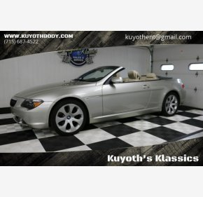 2005 BMW 645Ci Convertible for sale 101219874