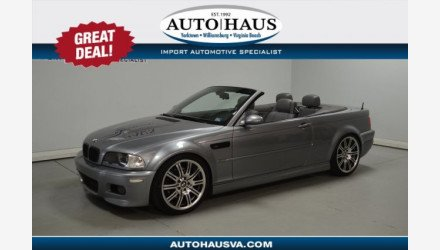 2005 BMW M3 Convertible for sale 101252945