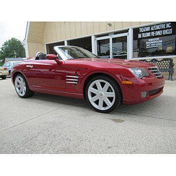 2005 Chrysler Crossfire Limited Convertible for sale 100998314
