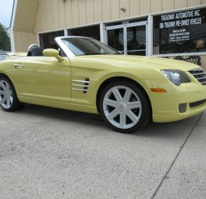 2005 Chrysler Crossfire Limited Convertible for sale 100990362
