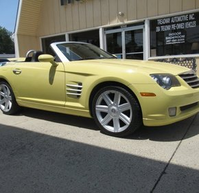 2005 Chrysler Crossfire Limited Convertible for sale 101004017