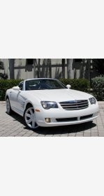 2005 Chrysler Crossfire Limited Convertible for sale 101130094