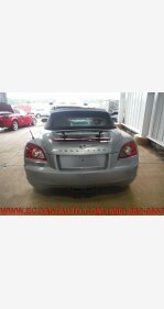 2005 Chrysler Crossfire Limited Convertible for sale 101326252