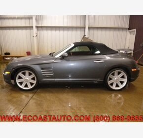 2005 Chrysler Crossfire Limited Convertible for sale 101326370