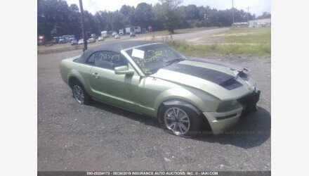 2005 Ford Mustang Convertible for sale 101192348