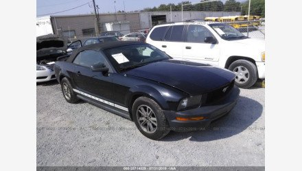 2005 Ford Mustang Convertible for sale 101192555