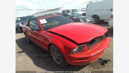 2005 Ford Mustang Convertible for sale 101205423