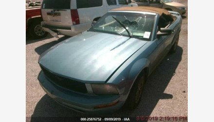 2005 Ford Mustang Convertible for sale 101206860