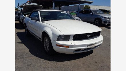 2005 Ford Mustang Convertible for sale 101346540