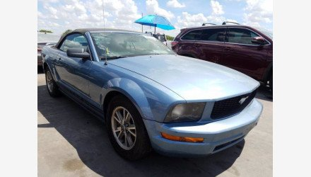 2005 Ford Mustang Convertible for sale 101358003