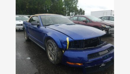 2005 Ford Mustang Convertible for sale 101361342