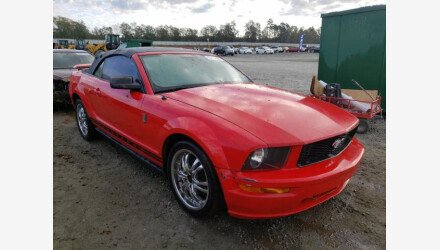 2005 Ford Mustang Convertible for sale 101397770
