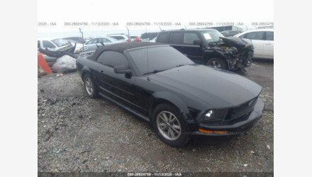 2005 Ford Mustang Convertible for sale 101410640
