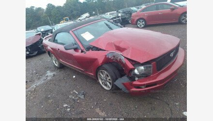 2005 Ford Mustang Convertible for sale 101416402