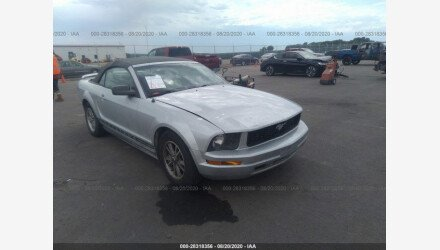 2005 Ford Mustang Convertible for sale 101434325