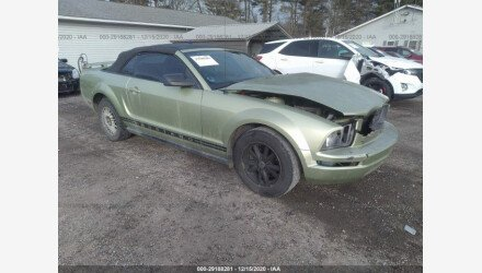 2005 Ford Mustang Convertible for sale 101437025