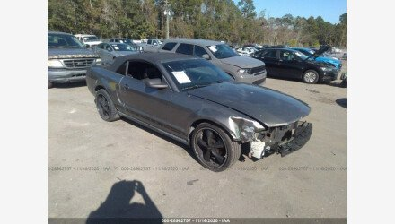 2005 Ford Mustang Convertible for sale 101437047