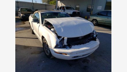 2005 Ford Mustang Convertible for sale 101440510
