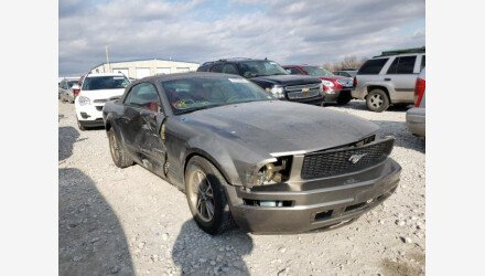 2005 Ford Mustang Convertible for sale 101441219