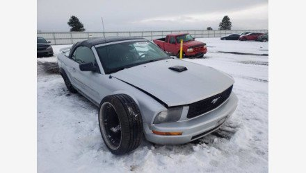 2005 Ford Mustang Convertible for sale 101442042