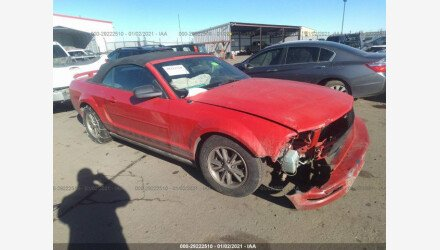 2005 Ford Mustang Convertible for sale 101451368