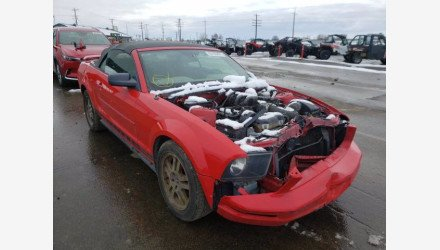 2005 Ford Mustang Convertible for sale 101461678
