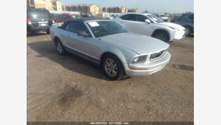 2005 Ford Mustang Convertible for sale 101465057
