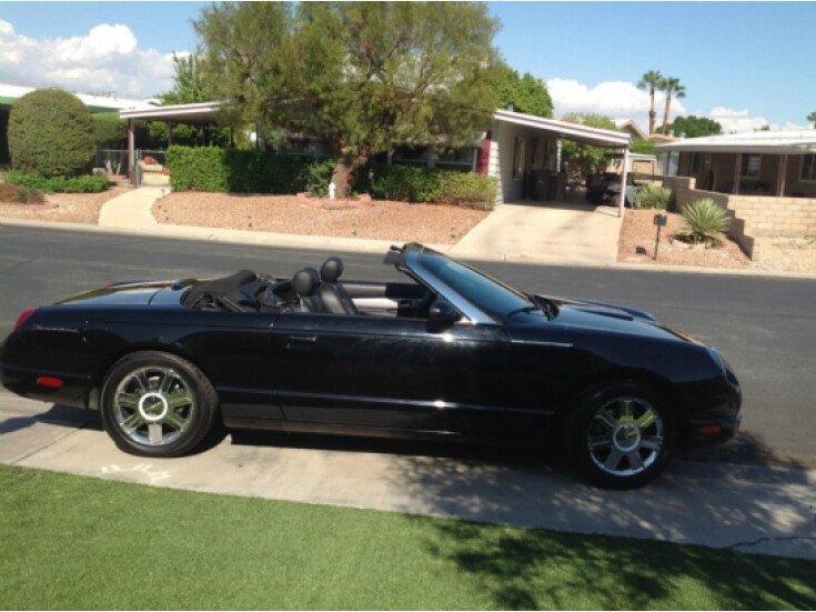 2005 Ford Thunderbird for sale 100776453