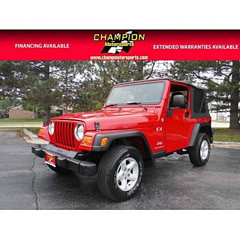 2005 Jeep Wrangler 4WD X for sale 101034041