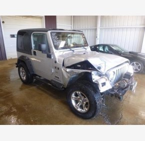 2005 Jeep Wrangler 4WD X for sale 100982729